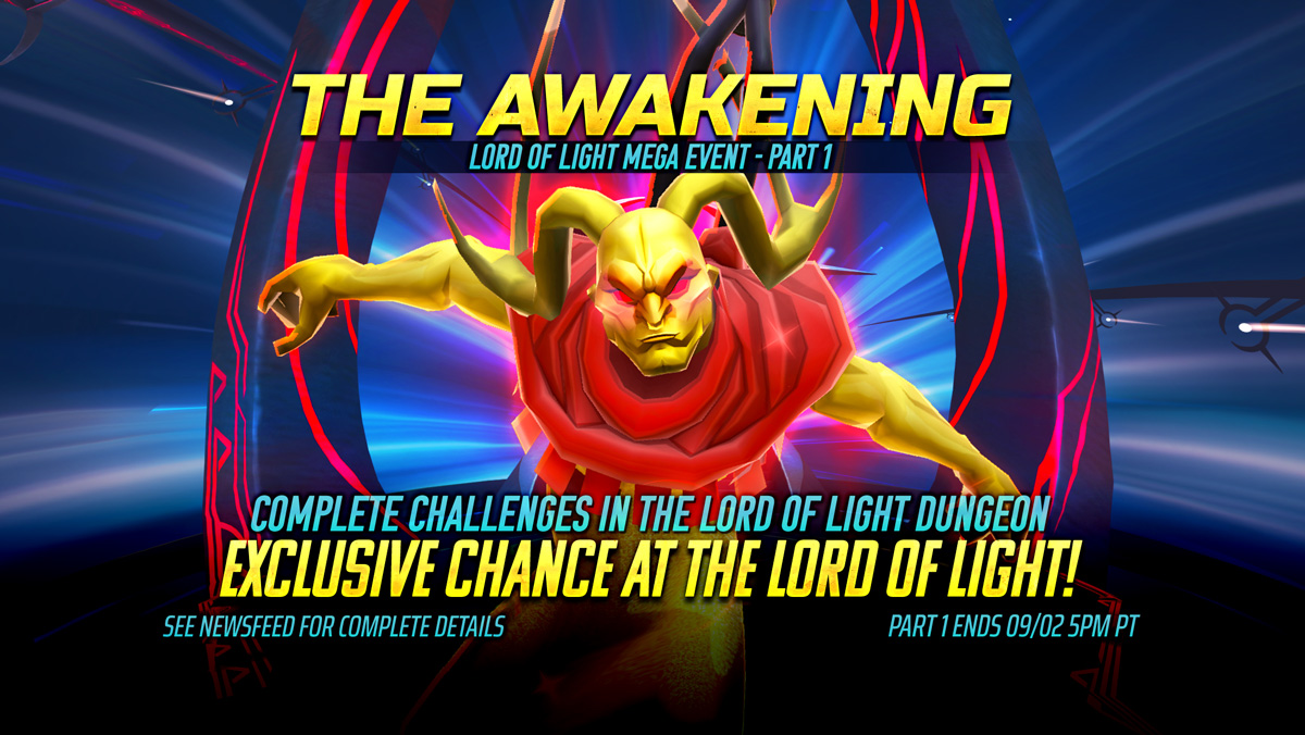 Battle For The Lord Of Light New Mega Event Starts Now Iron